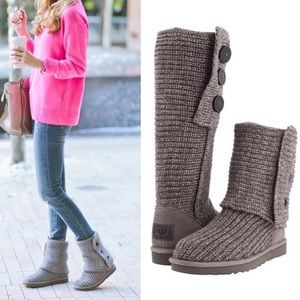 UGG Cardy Tall Grey Boots